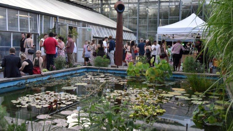Sommerfest der Universität Jena am 24.06.2016. Das Fest im Griesbachgarten, Botanischen Garten...